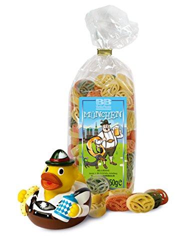 Badeente und bunte Pasta München