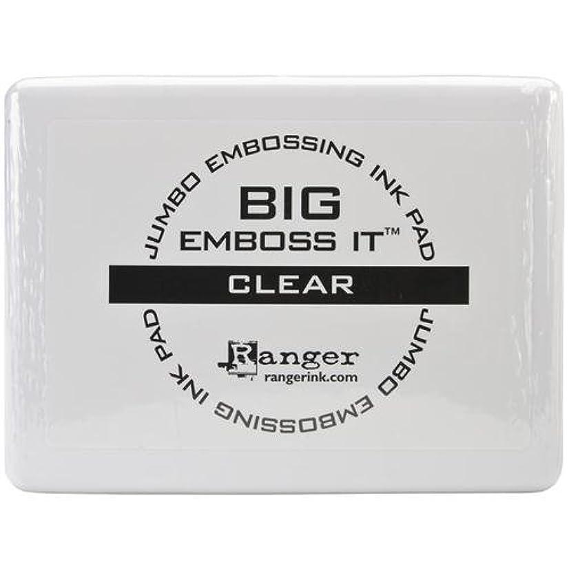 Darice Ranger Big & Bossy Clear Ink Embossing Pad - #3 Jumbo Size