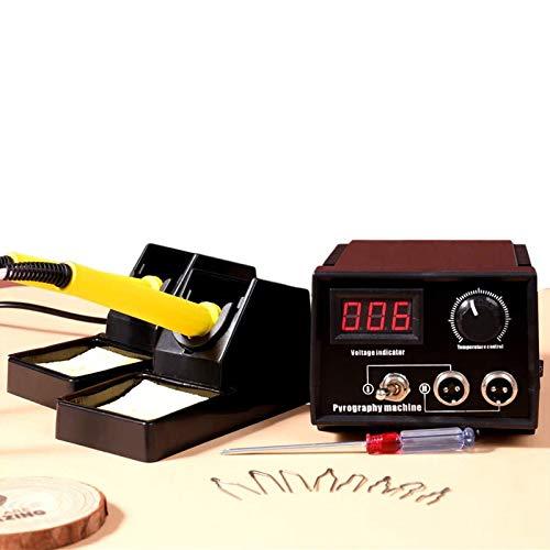 KKTECT Kit de leña Máquina de pirografía ajustable de 60 vatios Kit...