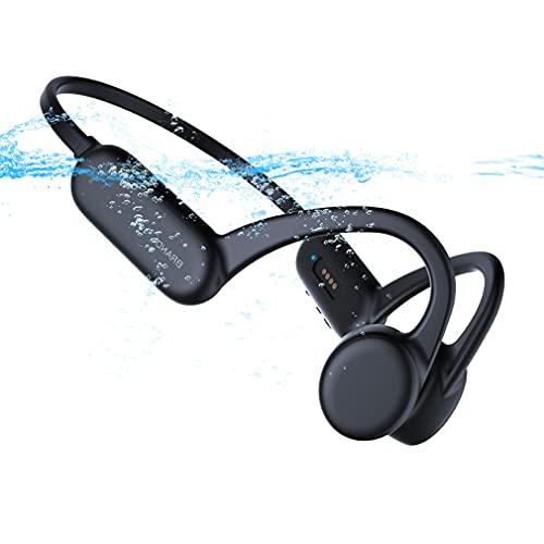 Auriculares de Natación de Conducción ósea Auricular Inalambricos con Bluetooth MP3, 8G...