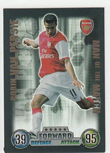 Match Attax 20072008 Van Persie Man of The Match Sammelkarte
