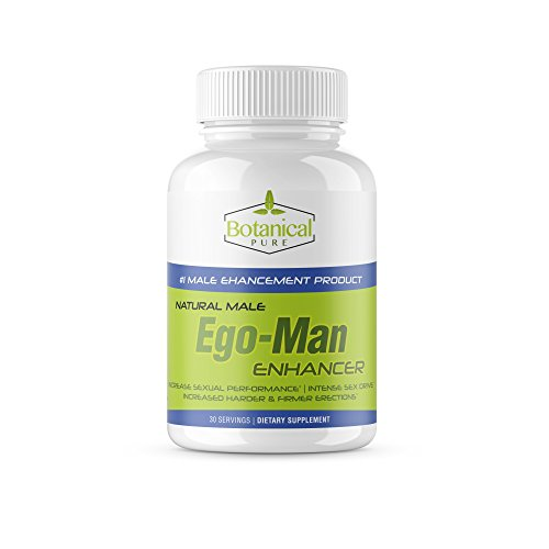EgoMan -Male Enhancement Pills,Testosterone Booster, Libido Booster, Energy, Stamina and Endurance Booster, Best Female and Male Performance Enhancer,Size and Girth Booster for Men