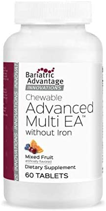 Max 87% OFF Bariatric Advantage – Chewable Advanced EA Multi Without Luxury goods Iron -