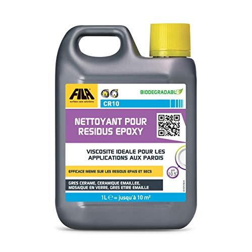 FILA Surface Care Solutions CR10 Nettoyant Professionel pour Residus Epoxy 1 L