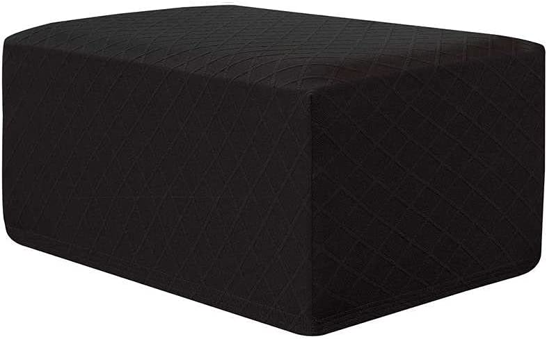 Challenge mart the lowest price of Japan Ottoman Slipcovers Rectangle Jacquard Footstool Protect Folding