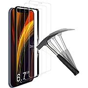 """ANEWSIR [3 Pack Protector de Pantalla para iPhone 12 Pro MAX (6.7""""), con Marco de posicionamiento,Cristal Templado Vidrio Templado Protector [9H Dureza] [Ultra-Transparente] [Resistente a Arañazos]"""