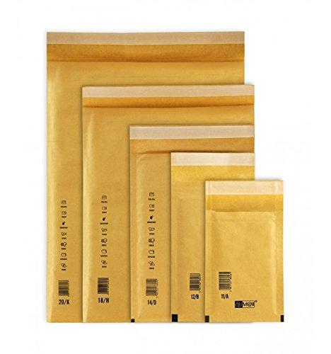 IMBALLAGGI 2000 - Buste Postali Imbottite iM@il - Buste Spedizione Imbottite - Ideali per Spedire e Proteggere Oggetti - 24x33 cm - 100 Pezzi