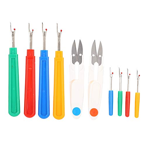 Tijeras de coser, desgarradores de costuras, tijeras de tela de colores, tijeras de bordado, suministros de bricolaje para coser