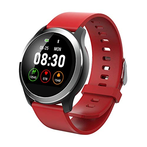 CETLFM Heren Sport Smart Horloge PPG + ECG Hartslag Bloeddruk Monitoring Smart Horloge Android IOS Compatibel Multi-Wijzerplaat Kleur Scherm
