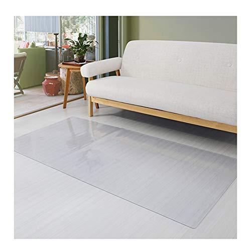 AMDHZ Bodenschutzmatte Bodenmatte Aus Kunststoff PVC Transparente Türmatte Fußpolster Wohnzimmer Küche Schlafzimmer Bodenmatte Teppich Wasserdicht Und rutschfest (Color : 1.5MM, Size : 200cmX300cm)