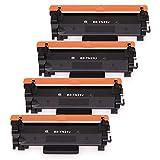 ブラザー TN-29J トナー ブラック 4本セット Brother 互換トナーカートリッジ 対応機種 MFC-L2750DW MFC-L2730DN DCP-L2550DW DCP-L2535D FAX-L2710DN HL-L2375DW HL-L2370DN HL-L2330D 増量版 残量表示可能 1年保証付【FEIER製】