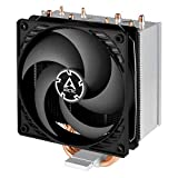 ARCTIC Freezer 34 CO - CPU Fan Cooler for Intel and AMD, Pressure Optimized, 120 mm Dual Ball Bearing PWM Fan with PST Technology, Direct Touch Technology - Black