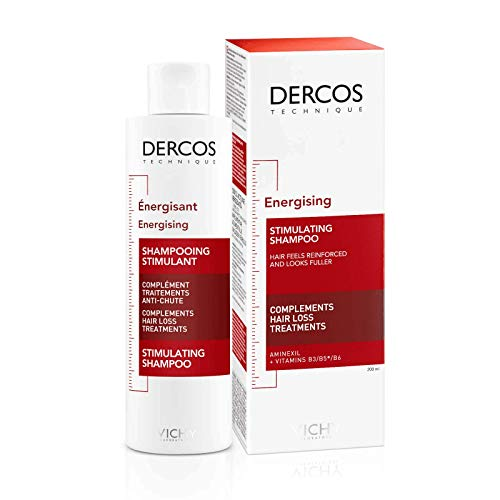 Dercos Shampoo energizzante anti-caduta di Vichy, Shampoo Unisex - Flacone 200 ml
