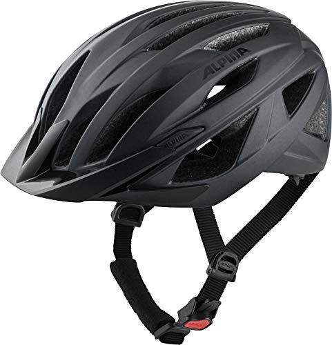 Alpina Unisex– Erwachsene Delft MIPS Fahrradhelm, Black matt, 58-63 cm