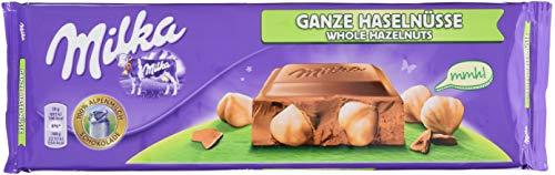 Milka Ganze Haselnüsse - Großtafel, 1er Pack (1 x 270 g)