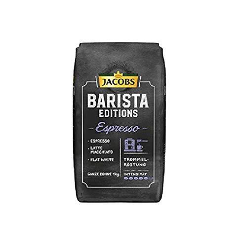 Jacobs Kaffeebohnen Barista Editions Espresso Bohnen, 1 kg Bohnenkaffee