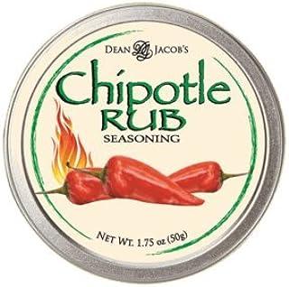 Dean Jacob's Chipotle Rub Seasoning Tin