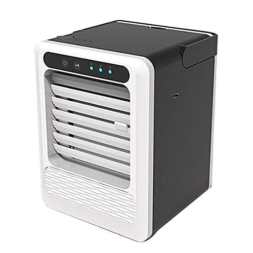 DRGRG Drgrg Aire Acondicionado Refrigeradores Evaporativos Mini Aire Acondicionado, Ventiladores Portátiles Usb, Mini Ventilador De Mesa Para Dispositivo De Refrigeración De Oficina