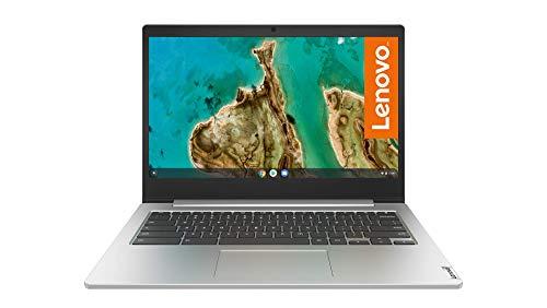 Lenovo IdeaPad 3 Chromebook Laptop 35,6 cm (14 Zoll, 1366x768, HD, entspiegelt) Slim Notebook (Intel Celeron N4020, 4GB RAM, 64GB eMMC, Intel UHD-Grafik 600, ChromeOS) silber
