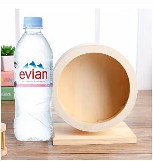 サイレントホイール ねずみ ハムスターのケージ飾り用部品 木製 (S)