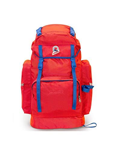 Invicta Zaino Monviso 3, 50 litri, Rosso, Travel & Trekking