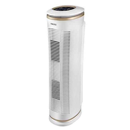 Homedics AT-PET02A-EU Purificatore d'Aria, Con filtro HEPA, Capacità 100mtq, Bianco