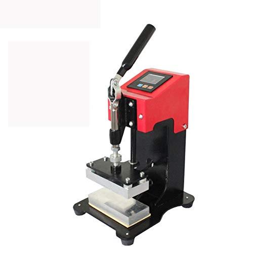 WMAN-Chao Pequeña Prensa Caliente Manual con Placas de Calefacción Dual, Controlador LCD, Presión Máxima de Presión de Presión Caliente