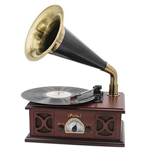 tocadiscos vintage de la marca LP&No.1