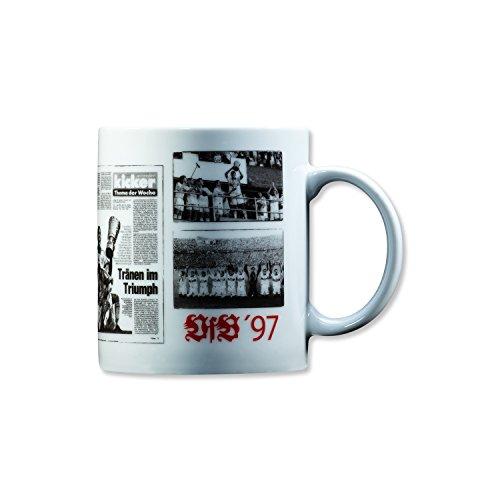 VfB Stuttgart Tasse Keramik 0,3 l, Limitierte Auflage Retro Design 5 Verschiedene Jahrgänge 1958 1984 1992 1997 und 2007 Fanartikel (1997)