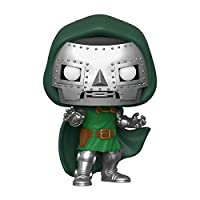 From fantastic four, doctor doom, as a stylized pop vinyl from funko Figure stands 9cm and comes in a window display box Check out the other disney marvel figures from funko collect them all Funko pop is the 2018 toy of the year and people's choice a...