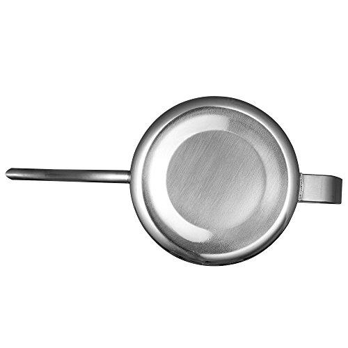 Kslong コーヒーポットコーヒー ケトル ステンレス 細口ハンドパンチポットドリップih対応長い口ポット グースネックポット シルバー, 350ml