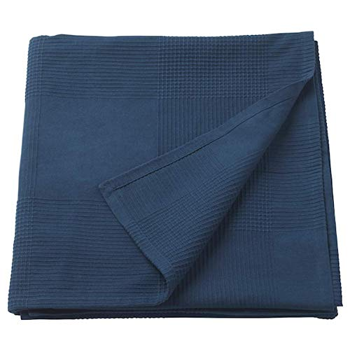 Ikea Indira Bedspread Dark Blue 91x98 103.962.46