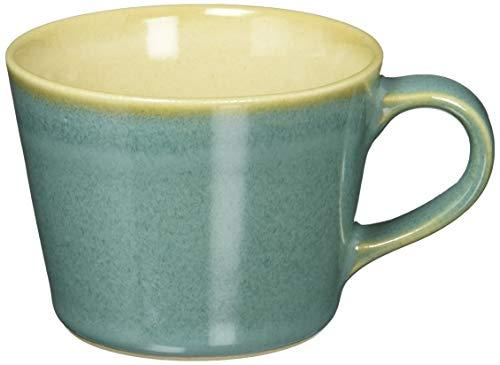 つかもと(Tsukamoto) デミタスカップ ブルー 200ml 益子焼 コーヒーカップ 伝統釉シリーズ 益子青磁釉 KKC-4