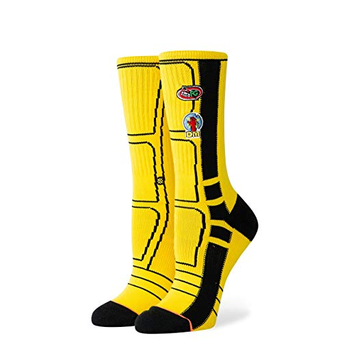 Stance Kb Silhouettes - Calcetines para mujer, Mujer, Calcetines para mujer., W556C19KBB, amarillo, small