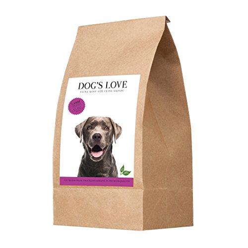 Hypoallergenic Trockenfutter Hund getreidefrei mit wichtigen Nährstoffen & hohem Fleischanteil – Premium Hundefutter mit frischen Zutaten - Naturkost – Lamm Adult (1 x 2kg)