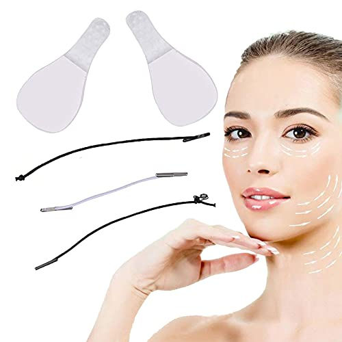 60 Stück Face Lifting Tape,Lifting Tapes Gesicht,Face Lifter,Instant Invisible Face Lift Sticker, Make-up Facelifting Werkzeuge für Gesicht, Dünne Gesicht Aufkleber V-Form Lift Gesicht Aufkleber