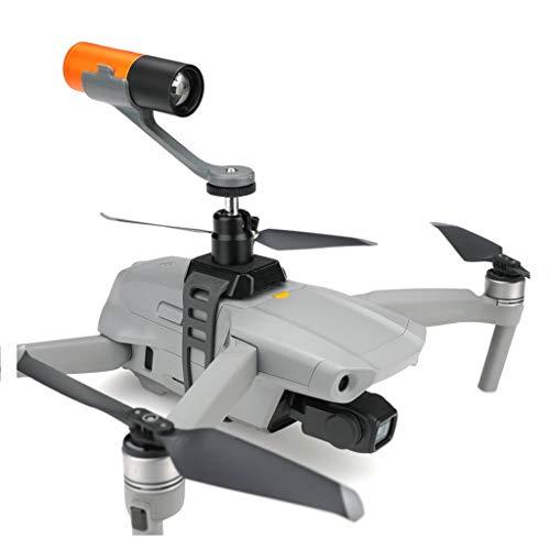 CUEYU LED-Licht für DJI Mavic Air 2 Drohne, Nachtflug LED-Licht Scheinwerfer Suchscheinwerfer für DJI Mavic Air 2 / Pro/Autel EVO 2 Drone