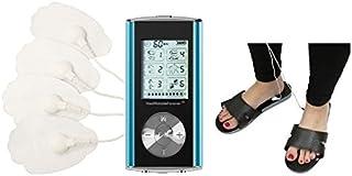 HealthmateForever 6 modos mejor portátil muscular facilidad pulso masajeador azul