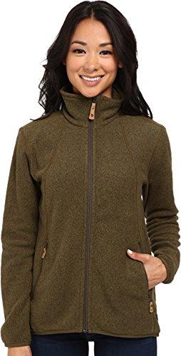 Fjällräven Damen Fleecejacke Stina Sweatshirt, Dark Olive, S