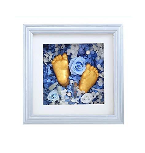 Sera in a hat Permanentes Handmodell, Babyhand- und Fußtinte, Hand- und Fußabdruck des Neugeborenen, Babyandenken, Handklonpulver@A2