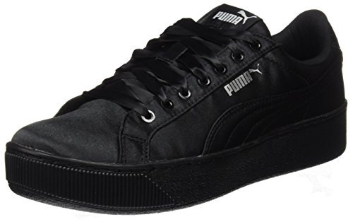 Puma Damen Vikky Platform EP 365239-02 Sneaker, Schwarz Black, 40.5 EU
