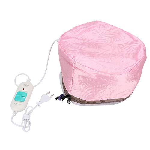 Hårvård termisk ångmössa, trestegs hår ångkokare keps temperaturjusterbar, automatisk skötsel frisörkappa frisörsalong värmestängning för hårfärgning, hårvård och hårtorkning