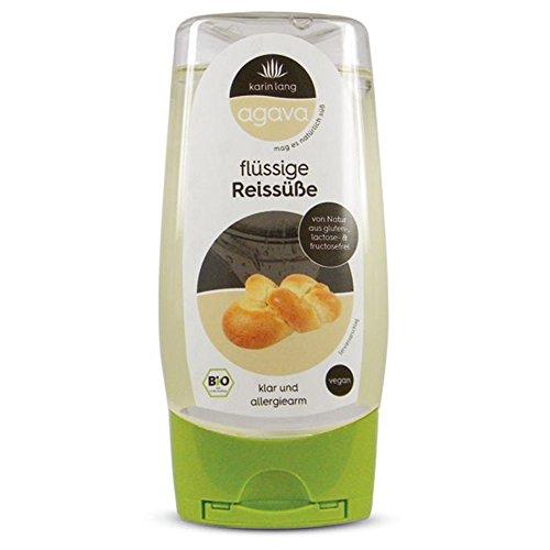 Agava flüssige Reissüße Spender, 350g, Bio: DE-ÖKO-001