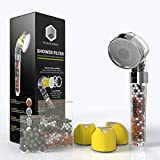 Zen Body Shower Head for Healthy Skin and Hair-Vitamin C Shower Head Filter for Hard Water and Chlorine Handheld Shower Head with Filter Beads Easy to Install Universal System Water Softener