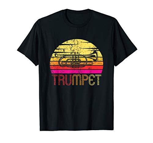 Vintage Retro Trumpet Design - Trumpet Player Music Joke T-Sh