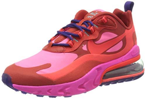 Nike Damen W Air Max 270 React Laufschuh, Mystic Red/Bright Crimson-Pink Blast, 40 EU