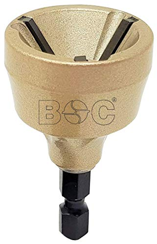 Bohrcraft 16481600002 Con Lame HM in Carta SB, Oro, 0,64 cm (1/4')