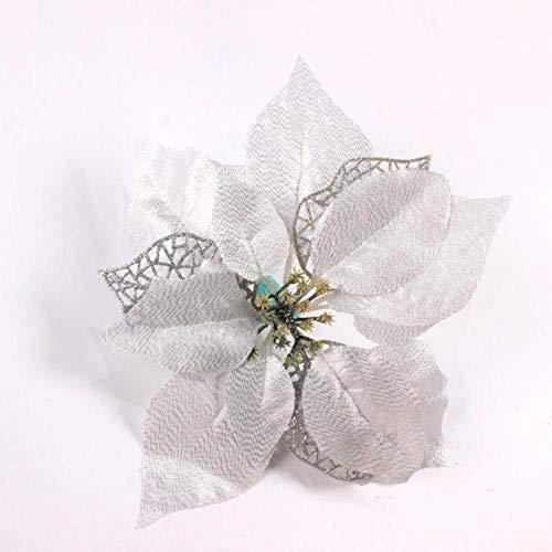 Kunstbloemen Kerst Nieuwjaar Decoratie Nepbloemen DIY thuis Ambachten bruiloft decoratie benodigdheden, 5, Russische Federatie