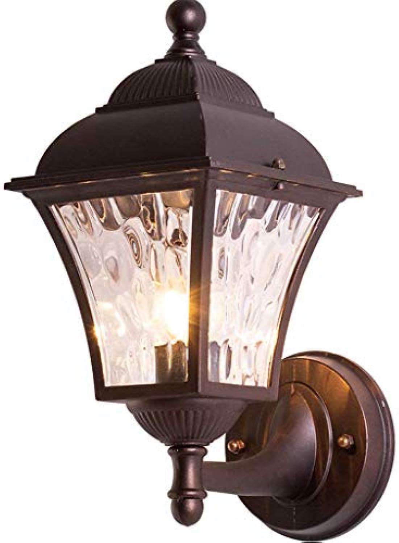 ZXUE LED Europische Auenwandleuchte, Hausgartenlampe Türlampe Auenwandleuchte Terrasse Lampe Gang Balkon Wasserdichte Wandleuchte