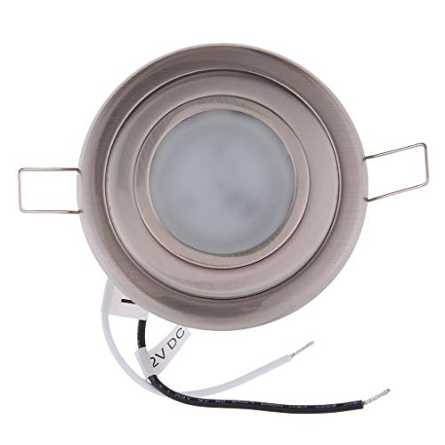 3.5' Lampada Plafoniera a LED Downlight 12V 2.5W LED Accessorio Barca Marina